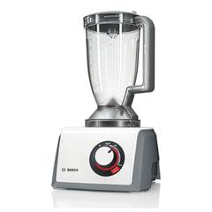 Кухонный комбайн BOSCH MCM64051, 1200 Вт, плавная регулировка скорости, блендер, 8 насадок, белый