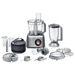 Кухонный комбайн BOSCH MCM68885, 1250 Вт, плавная регулировка скорости, блендер, 7 насадок, серый