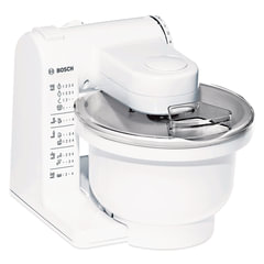 Кухонная машина BOSCH MUM4426, 500 Вт, 4 скорости, 6 насадок, белая