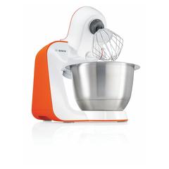 Кухонная машина BOSCH MUM54I00, 900 Вт, 7 скоростей, 3 насадки, оранжевая