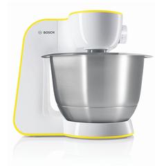 Кухонная машина BOSCH MUM54Y00, 900 Вт, 7 скоростей, 3 насадки, желтая