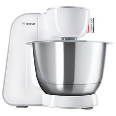 Кухонная машина BOSCH MUM58225, 1000 Вт, 7 скоростей, мясорубка, 4 насадки, белая