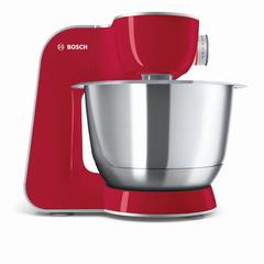 Кухонная машина BOSCH MUM58720, 1000 Вт, 7 скоростей, блендер, 6 насадок, красная
