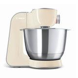 Кухонная машина BOSCH MUM58920, 1000 Вт, 7 скоростей, блендер, 6 насадок, бежевая