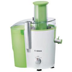 Соковыжималка BOSCH MES25G0, 700 Вт, стакан 1,25 л, емкость для жмыха 2 л, пластик, зеленый