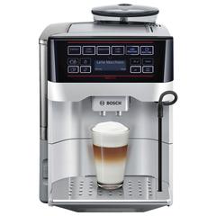 Кофемашина BOSCH TES60321RW, 1500 Вт, объем 1,7 л, емкость для зерен 300 г, автокапучинатор, серая