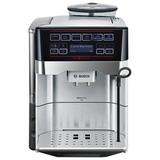 Кофемашина BOSCH TES60729RW, 1500 Вт, объем 1,7 л, емкость для зерен 300 г, автокапучинатор, серебристая