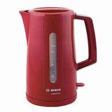 Чайник BOSCH TWK3A014, 1,7 л, 2400 Вт, закрытый нагревательный элемент, пластик, красный