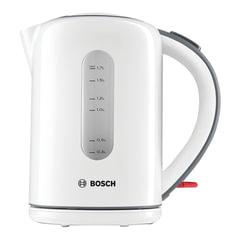 Чайник BOSCH TWK7601, 1,7 л, 2200 Вт, закрытый нагревательный элемент, пластик, белый