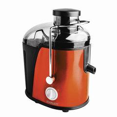 Соковыжималка SCARLETT SC-JE50S16, 850 Вт, стакан 0,35 л, емкость для жмыха 1 л, пластик, оранжевый/<wbr/>черный