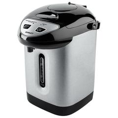 Термопот SCARLETT SC-ET10D50, 3,3 л, 750 Вт, 1 температурный режим, 3 режима подачи воды, сталь, черный/<wbr/>серебристый