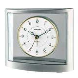 Часы-будильник SCARLETT SC-855, электронный сигнал, пластик, «серебро»