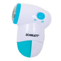 Машинка для удаления катышков SCARLETT SC-920, съемный резервуар, пластик, белый/<wbr/>голубой