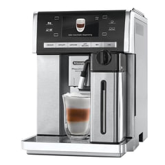 Кофемашина DELONGHI ESAM 6904.M, 1350 Вт, объем 1,4 л, емкость для зерен 250 г, автоматический капучинатор, серебристая