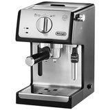 Кофеварка рожковая DELONGHI ECP 35.31, 1100 Вт, объем 1,1 л, ручной капучинатор, серебристая