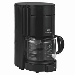 Кофеварка капельная BRAUN KF47/<wbr/>1, 1000 Вт, объем 1,3 л, автоотключение, черная
