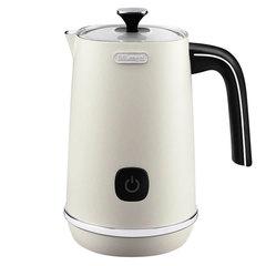 Вспениватель молока DELONGHI EMFI.W, 500 Вт, объем 0,14 л, автоотключение, подсветка кнопок, белый