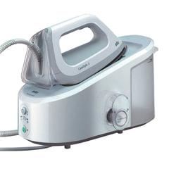 Парогенератор BRAUN IS3041WH, 2400 Вт, 5 Бар, пар 120 г/<wbr/>мин, паровой удар 310 г/<wbr/>мин, 2 л, белый