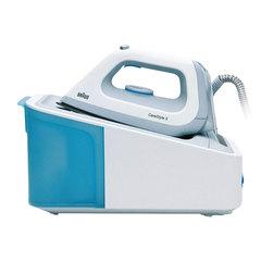 Парогенератор BRAUN IS5022, 2400 Вт, 6 Бар, пар 120 г/<wbr/>мин, паровой удар 340 г/<wbr/>мин, 1,4 л, белый/<wbr/>голубой