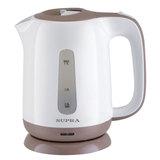 Чайник SUPRA KES-1724, 1,7 л, 2200 Вт, закрытый нагревательный элемент, пластик, белый/<wbr/>бежевый