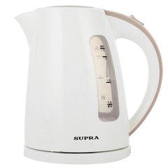 Чайник SUPRA KES-1726, 1,7 л, 2200 Вт, закрытый нагревательный элемент, пластик, белый/<wbr/>бежевый