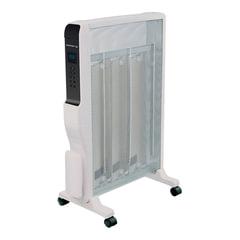 Обогреватель микатермический POLARIS PMH 2007RCD, 2000 Вт, 4 нагревательных элемента, 2 режима, ПДУ, дисплей, белый