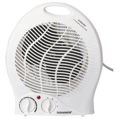 Тепловентилятор SONNEN F-200, 1000/<wbr/>2000 Вт, 2 режима работы, белый