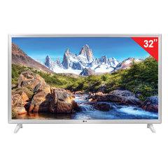 """Телевизор LG 32"""" (81,2 см), 32LJ519U, LED, 1366×768 HD, 16:9, 50 Гц, 2HDMI, USB, встроенные игры, белый, 4,9 кг"""