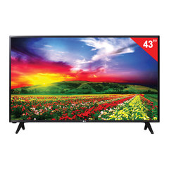 "Телевизор LG 43"" (109,2 см), 43LJ500V, LED, 1920×1080 Full HD, 16:9, 50 Гц, 2HDMI, USB, черный, 8,4 кг"