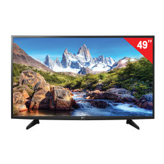 "Телевизор LG 49"" (124,5 см), 49LJ510V, LED, 1920×1080 Full HD, 16:9, 50 Гц, 2HDMI, USB, черный, 10,9 кг"