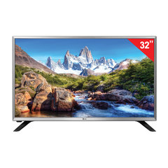 "Телевизор LG 32"" (81,2 см), 32LJ594U, LED, 1366×768 HD, Smart TV, Wi-Fi, 50 Гц, HDMI, USB, серебристый, 5 кг"
