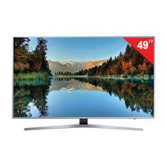 "Телевизор SAMSUNG 49"" (124,5 см), UE49MU6400, LED, 3840×2160 UHD, Smart TV, Wi-Fi, 100 Гц, HDMI, USB, серый, 16 кг"