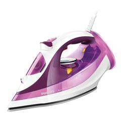 Утюг PHILIPS GC4519/<wbr/>30, 2400 Вт, антипригарное покрытие, самоочистка, автоотключение, фиолетовый/<wbr/>белый