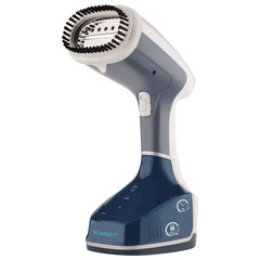 Отпариватель ручной SCARLETT SC-GS135S01, 1400 Вт, пар 30 г/<wbr/>мин., резервуар 0,28 л, синий