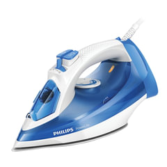 Утюг PHILIPS GC2990/<wbr/>20, 2300 Вт, металлокерамическое покрытие, самоочистка, белый/<wbr/>голубой