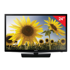 "Телевизор SAMSUNG 24"" (61 см), UE24H4070, LED, 1366×768, HD, 16:9, 100 Гц, HDMI, USB, черный, 4,1 кг"