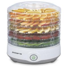 Сушилка для овощей и фруктов POLARIS PFD 0705, 300 Вт, 5 поддонов, пластик, серый