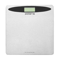 Весы напольные POLARIS PWS 1524DM, электронные, вес до 150 кг, квадратные, металл, серые