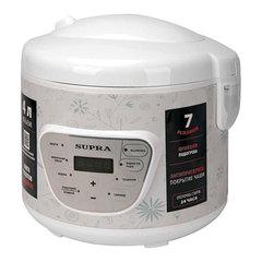Мультиварка SUPRA MCS-4704, 900 Вт, 4 л, 14 программ, таймер, цветочный принт