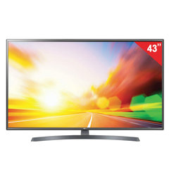 "Телевизор LG 43LK6200, 43"" (108 см), 1920×1080, Full HD, 16:9, Smart TV, Wi-Fi, серебристый"