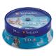 ���� CD-R VERBATIM, 700 MB, 52x, Printable, 25 ��., Cake Box, � ������������ ��� ������