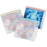 Конверты для CD/<wbr/>DVD BRAUBERG, комплект 40 шт., на 2CD/<wbr/>DVD, упаковка с европодвесом