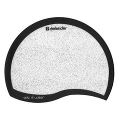 Коврик для мыши DEFENDER Ergo, эргономичный, 215×165×1,2 мм, черный