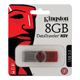 Флэш-диск 8 GB, KINGSTON DataTraveler DT101G2, USB 2.0, красный