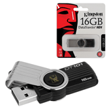 Флэш-диск 16 GB, KINGSTON DataTraveler DT101G2, USB 2.0, черный