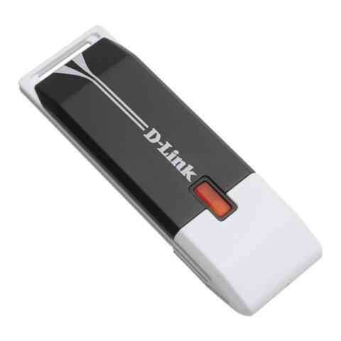 Адаптер WI-FI D-LINK DWA-140, USB 2.0, 802.11n, 300 Мбит/с.