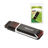 Флэш-диск 4 GB, APACER Handy Steno AH321, USB 2.0, карминно-красный