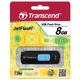 ����-���� TRANSCEND, 8 GB, JetFlash 500, USB 2.0, �������� ������/<wbr/>������ — 15/<wbr/>7 ��/<wbr/>���.