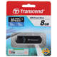 Флэш-диск 8 GB, TRANSCEND JetFlash 600, USB 2.0, черный