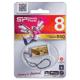 Флэш-диск 8 GB, SILICON POWER Touch 850 Amber, USB 2.0, янтарный
